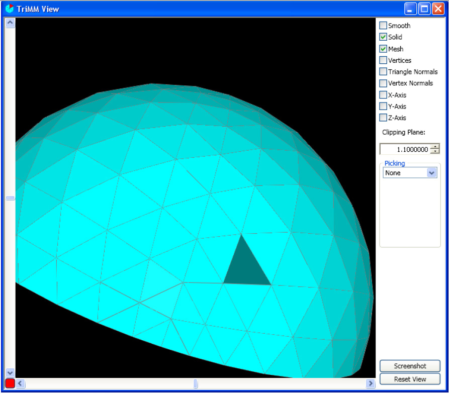 Mesh Repairing Software on the Web